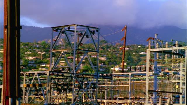 MS PAN Santa Barbara substation grid infrastructure, Santa Barbara, California, USA