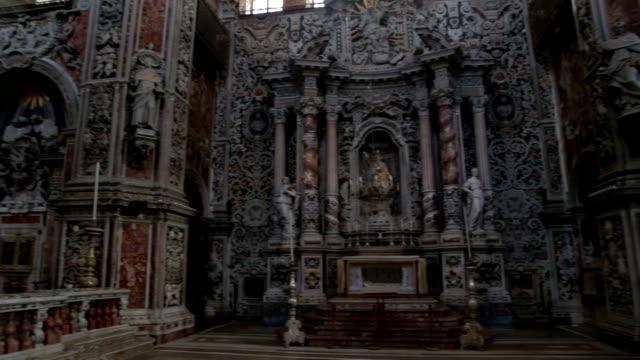 santa caterina - baroque stock videos & royalty-free footage