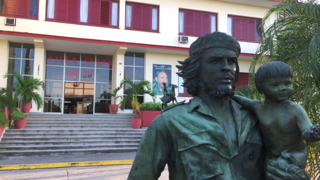 Santa Clara, Cuba: Che Guevara statue or sculpture in the Provincial Committee of the Communist Party