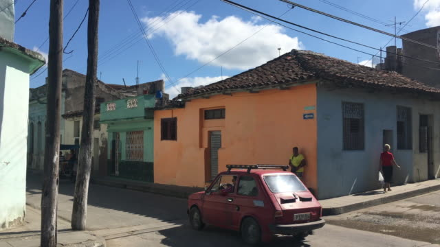 Santa Clara, Cuba, lifestyle and architecture in the Maceo Street