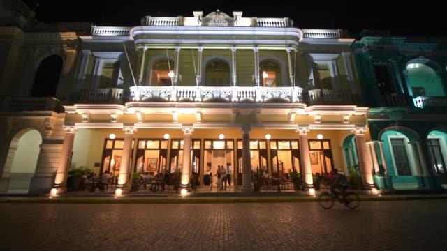 Santa Clara, Cuba: the 'Hotel Central' at night