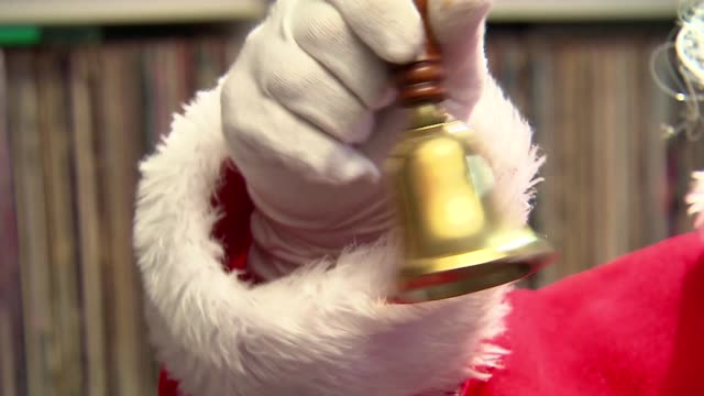 santa claus bell - poland stock videos & royalty-free footage