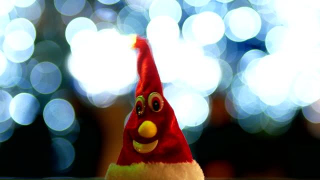 Santa Claus Hut, Weihnachtsbaum, Nacht, Weihnachtsbeleuchtung
