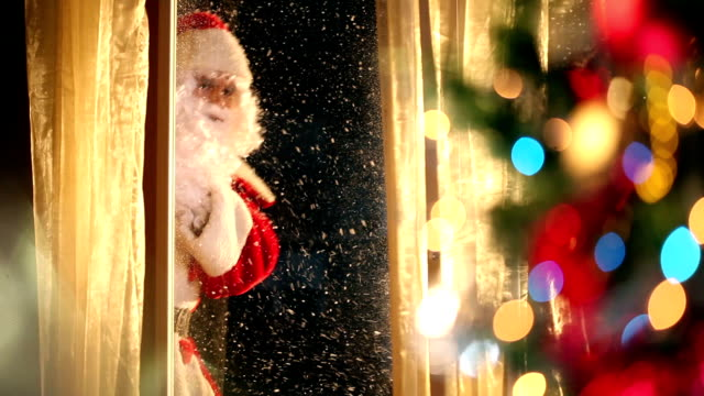 santa claus is coming! - father christmas stock videos and b-roll footage