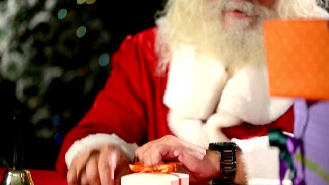Santa Claus nervös