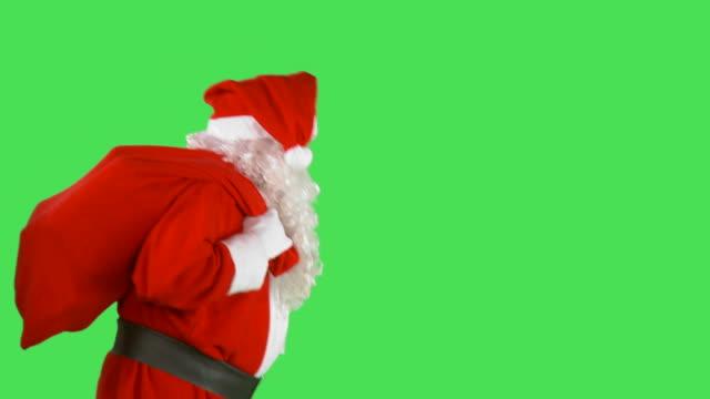 hd: santa claus - santa claus stock videos & royalty-free footage