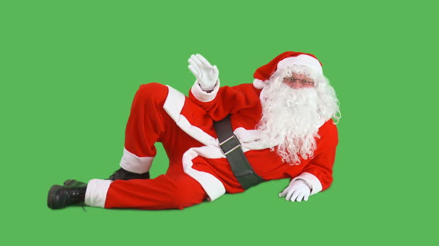 hd: santa claus - father christmas stock videos & royalty-free footage