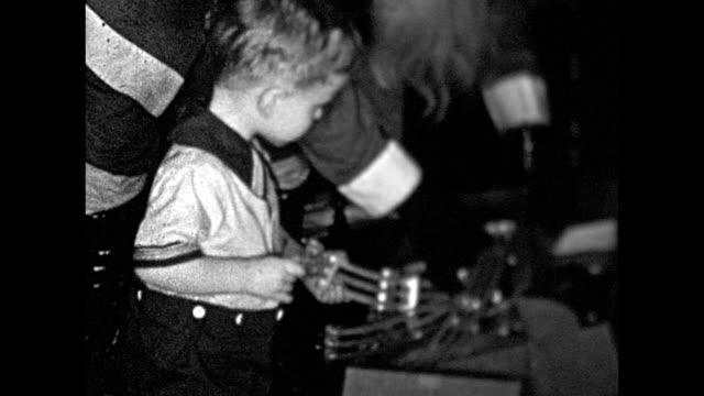 1931 santa claus visit - 1931 stock videos & royalty-free footage
