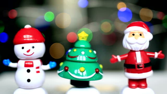 Santa clause, snowman, christmas ornaments, funny, happy