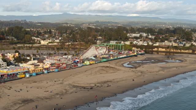 Santa Cruz Amusement Park Aerial