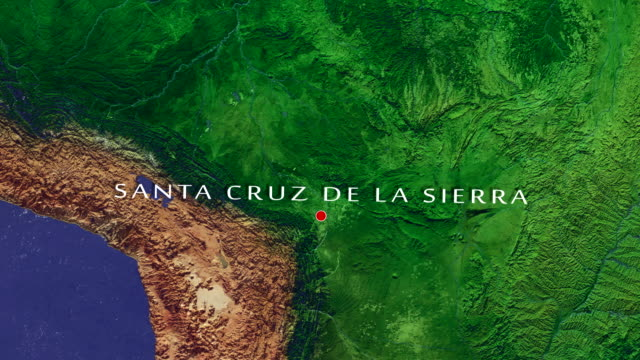 Santa Cruz de la Sierra 4K Zoom In