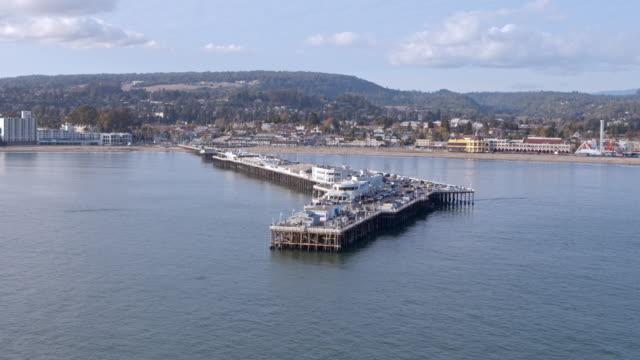 Santa Cruz Pier Aerial