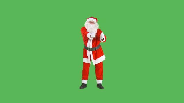 hd: santa dancing - santa claus stock videos & royalty-free footage