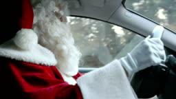 Santa Driving - Santa is driving and singing
