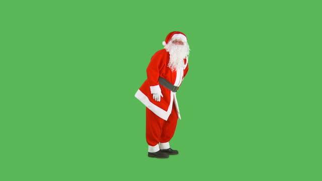 hd: santa gehen shh - auf den zehenspitzen stock-videos und b-roll-filmmaterial