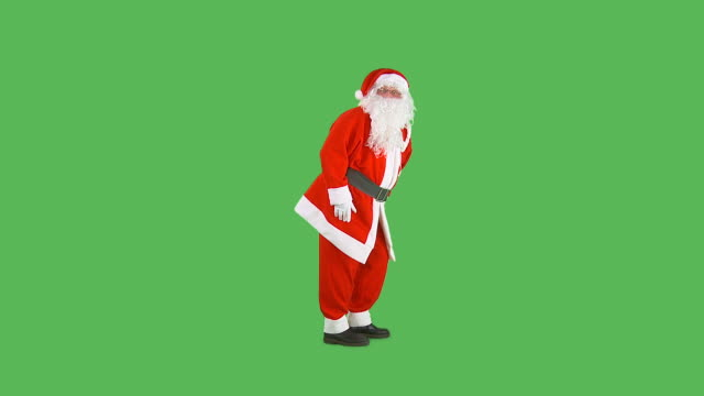 hd: santa going shh - tiptoe stock videos & royalty-free footage