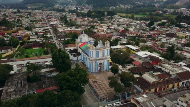 stockvideo's en b-roll-footage met santa lucia church in san cristobal de las casas - city of neighbors: give once for all film title