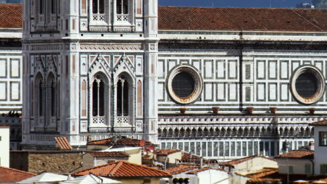 t/l cu zo ws ha santa maria del fiore and cityscape, florence, tuscany, italy - florence italy stock videos and b-roll footage