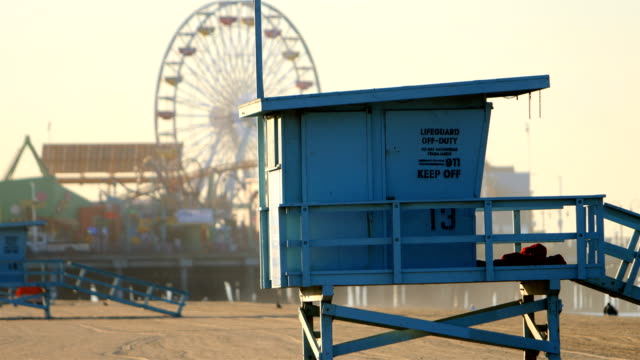 santa monica, ca - malibu stock videos & royalty-free footage