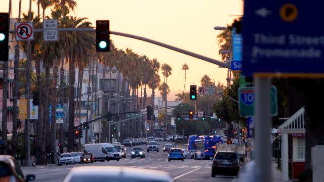 santa monica, ca - western usa stock videos & royalty-free footage