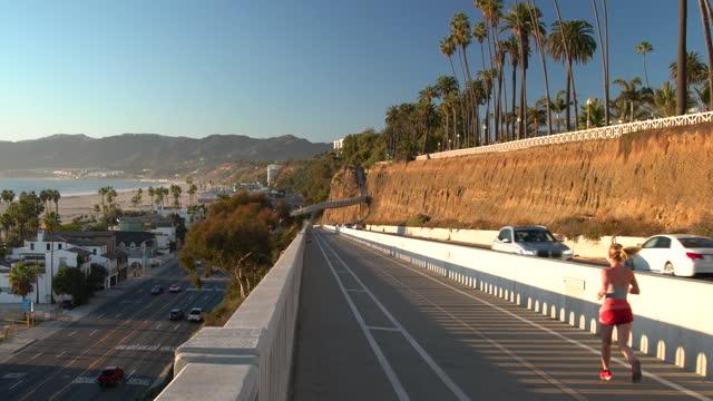 santa monica - california incline - malibu stock videos & royalty-free footage