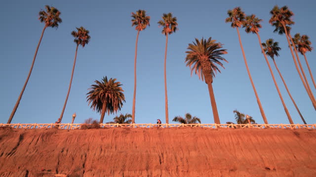 santa monica - palisades park - palisades park stock videos & royalty-free footage
