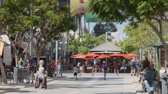 Santa Monica Shopping Street