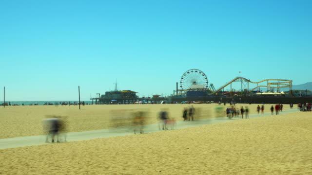 Santa Monica Timelapse HD-Videos