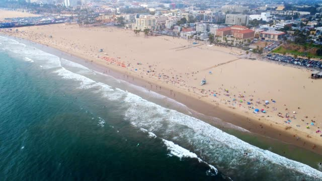 santa monica/venice, california - beach - santa monica stock videos and b-roll footage