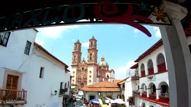 santa prisca, taxco - mexico stock videos & royalty-free footage