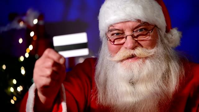 Santa With Credit Card