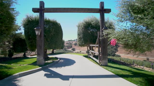 santa ynez valley vinyard - サンタイネス点の映像素材/bロール