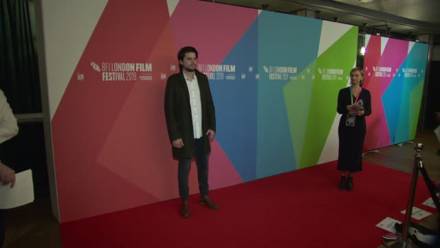 santiago a zapata at bfi london film festival awards on october 12 2019 in london england - the times bfi london film festival stock videos & royalty-free footage