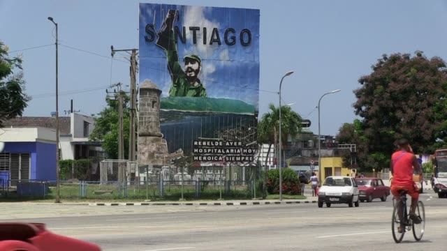 santiago de cuba on the east of the island is cuba's second most important city and was its first capital - santiago de cuba stock videos and b-roll footage