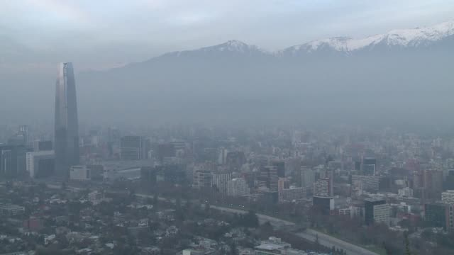 Santiago is facing its first environmental emergency of the year due to high pollution levels in the Chilean capital where the mountainous geography...