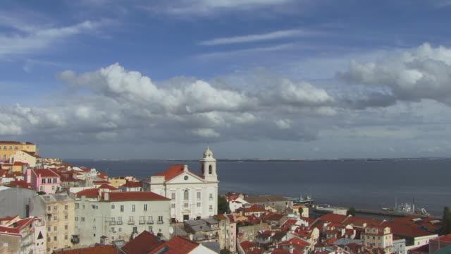 HA WS Santo Estevao Church and cityscape / Lisbon, Portugal