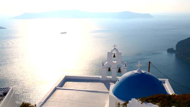 HD: Santorini island, Greece