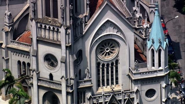 Santos Cathedral  - Aerial View - São Paulo,Santos,Brazil