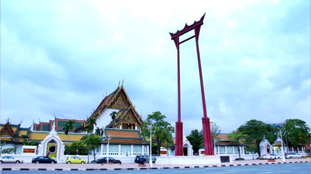 Sao Chingcha landmark of Bangkok ,Thailand