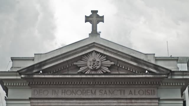 tl sao paulo, brazil - キリスト教点の映像素材/bロール