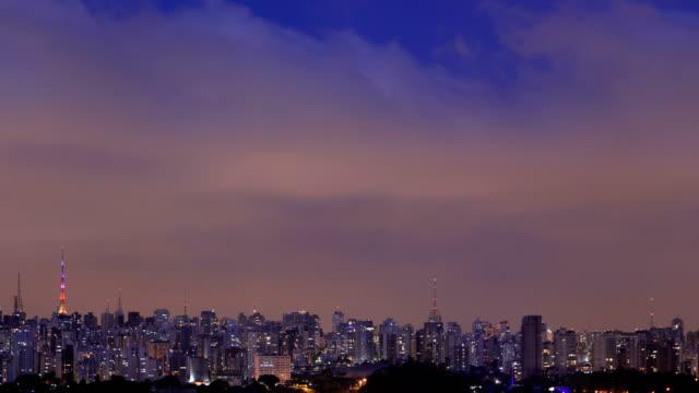 vídeos de stock e filmes b-roll de sao paulo cinemagraph - américa latina