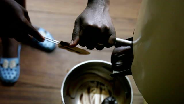 "Sao Tomé and Principe, Sao Tomé island, chocolate production by the company ""Claudio Corallo"""