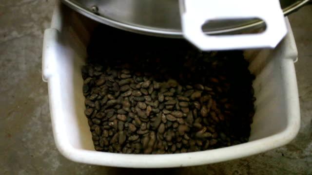 "Sao Tomé and Principe, Sao Tomé island, chocolate production, roasted chocolate ""Claudio Corallo"" company"