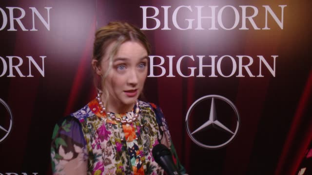 INTERVIEW Saoirse Ronan on receiving the International Star Award what it means to her to present Cate Blanchett at 27th Annual Palm Springs...
