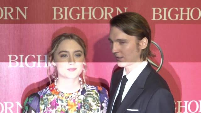 Saoirse Ronan Paul Dano at 27th Annual Palm Springs International Film Festival Awards Gala in Los Angeles CA