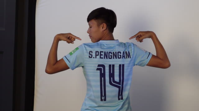 Saowalak Pengngam at FIFA Women's World Cup France 2019 Team Portrait Session on June 08 2019 in Reims