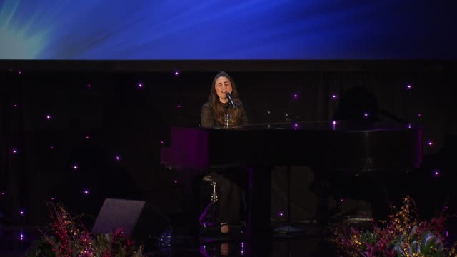 PERFORMANCE Sara Bareilles at 2017 Princess Grace Awards Gala With Presenting Sponsor Christian Dior Couture at The Beverly Hilton Hotel on October...
