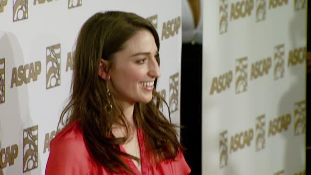 vidéos et rushes de sara bareilles at the ascap's 25th annual pop music awards at the kodak theatre in hollywood california on april 9 2008 - ascap