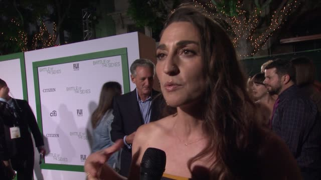 "INTERVIEW Sara Bareilles talks about having original song ""If I Dare"" in the film Talks about being at a party and getting a text for Billie Jean..."