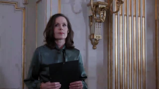 sara danius, permanent secretary of the swedish academy announces the winner of the 2017 nobel prize in literature during a press conference in... - nobel prize in literature stock videos & royalty-free footage